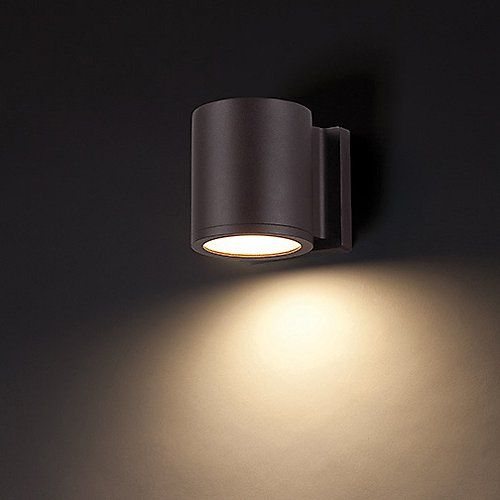 Tube Indoor Outdoor Led Wall Sconce By Modern Forms At Lumens Com Wall Wash Lighting Wac Lighting Led Outdoor Wall Lights
