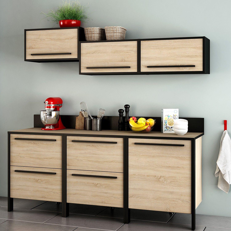 Kuechenzeile Stavarn I 6 Teilig Küchen Möbel Moderne Küchenmöbel Küchenmöbel