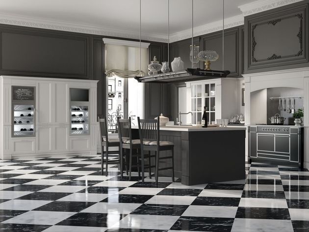 Country Chic: English Mood Kitchen by Minacciolo | 50 Shades of ...