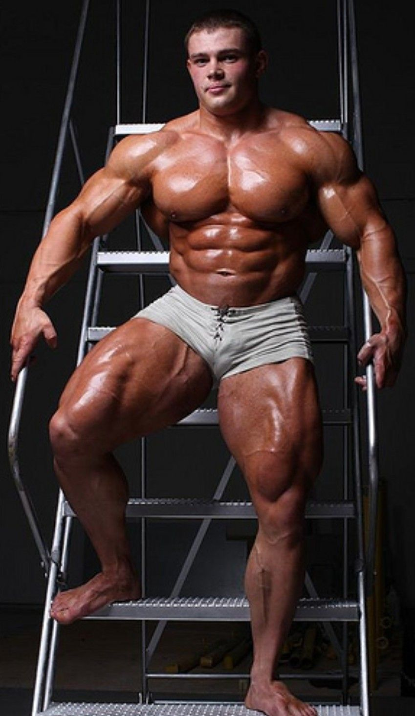 Submissive muscle men