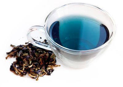 Blue Herbal Tea From Water Morning Glory Herbalism Blue Food Blue