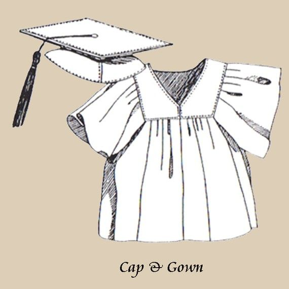 Sewing Pattern Teddy bear Graduation Cap and by GrandmaGrizzlys ...