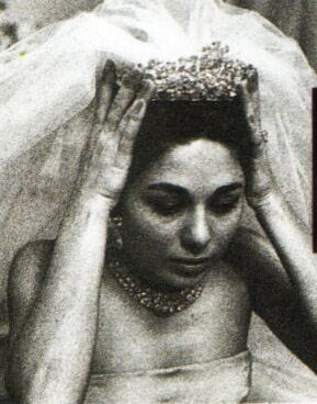Empress Farah Pahlavi of Iran;  for On the occasion of her 1958 marriage to Shah Mohammad Reza Pahlavi of IranTiara Mania: Noor-ol-Ain Tiara