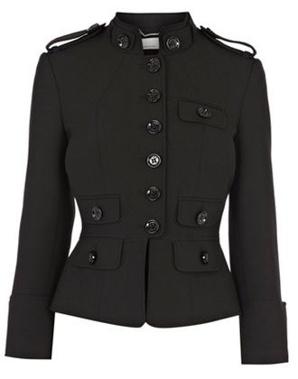 Military Tailored Jacket $304 This Short tailored jacket takes ...