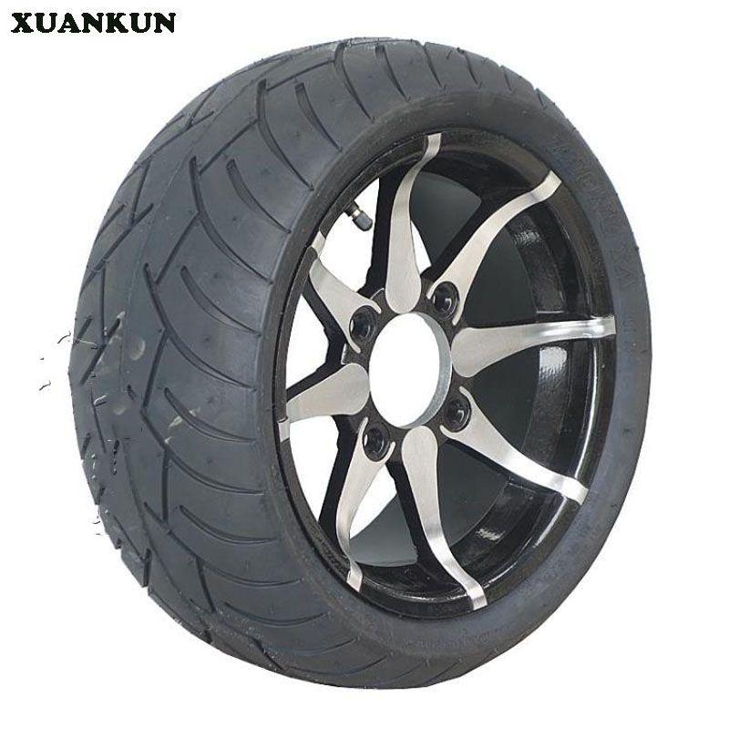 Xuankun Beach Car Motorcycle Modified 235 30 12 205 30 12 Inch Aluminum Alloy Wheel Flat Tire Beach Cars Alloy Wheel Flat Tire