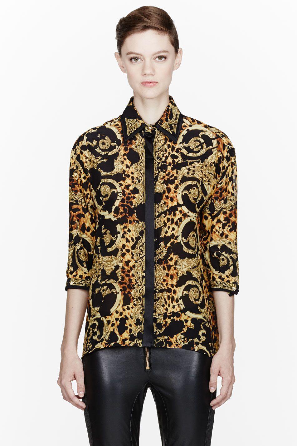890aedd2991a9 Black And Gold Silk Shirts - DREAMWORKS