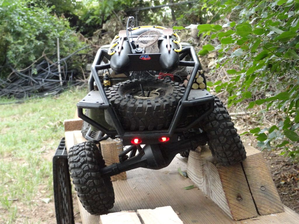 my backyard crawler course ((PIC HEAVY!!)) RC Rock