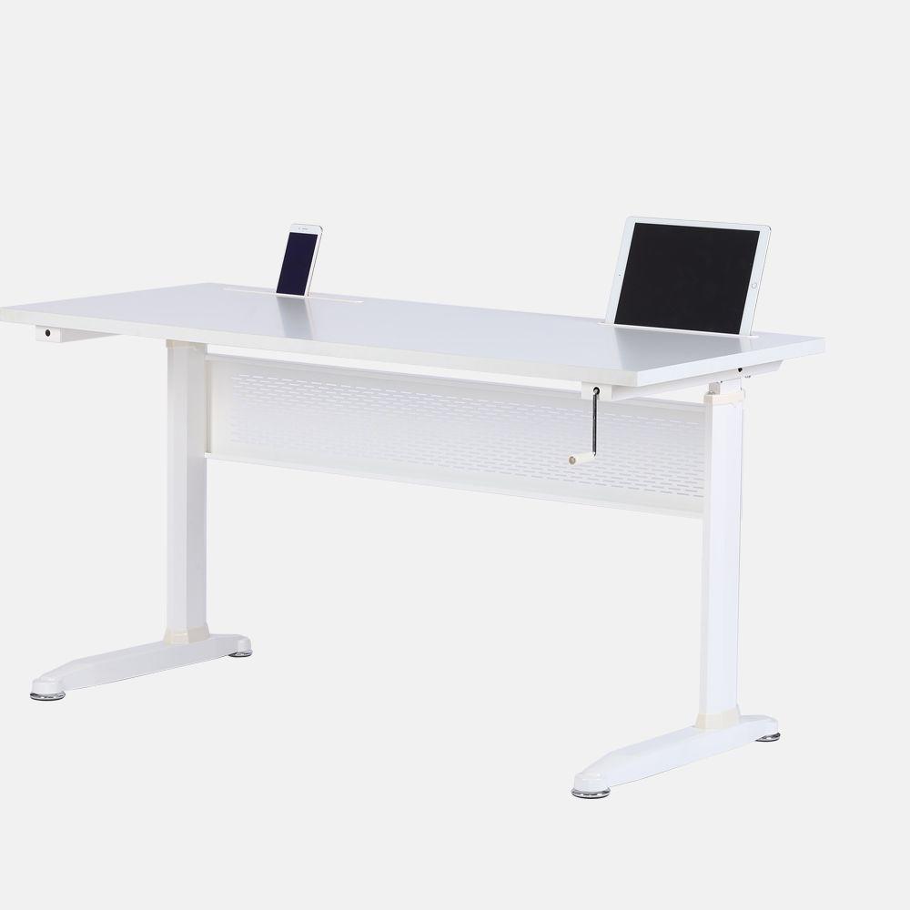 Pengcheng Hand Crank Height Adjule Desk
