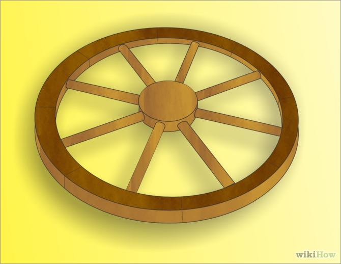Make a Replica Wagon Wheel | Pinterest | Wagon wheels, Wheels and ...