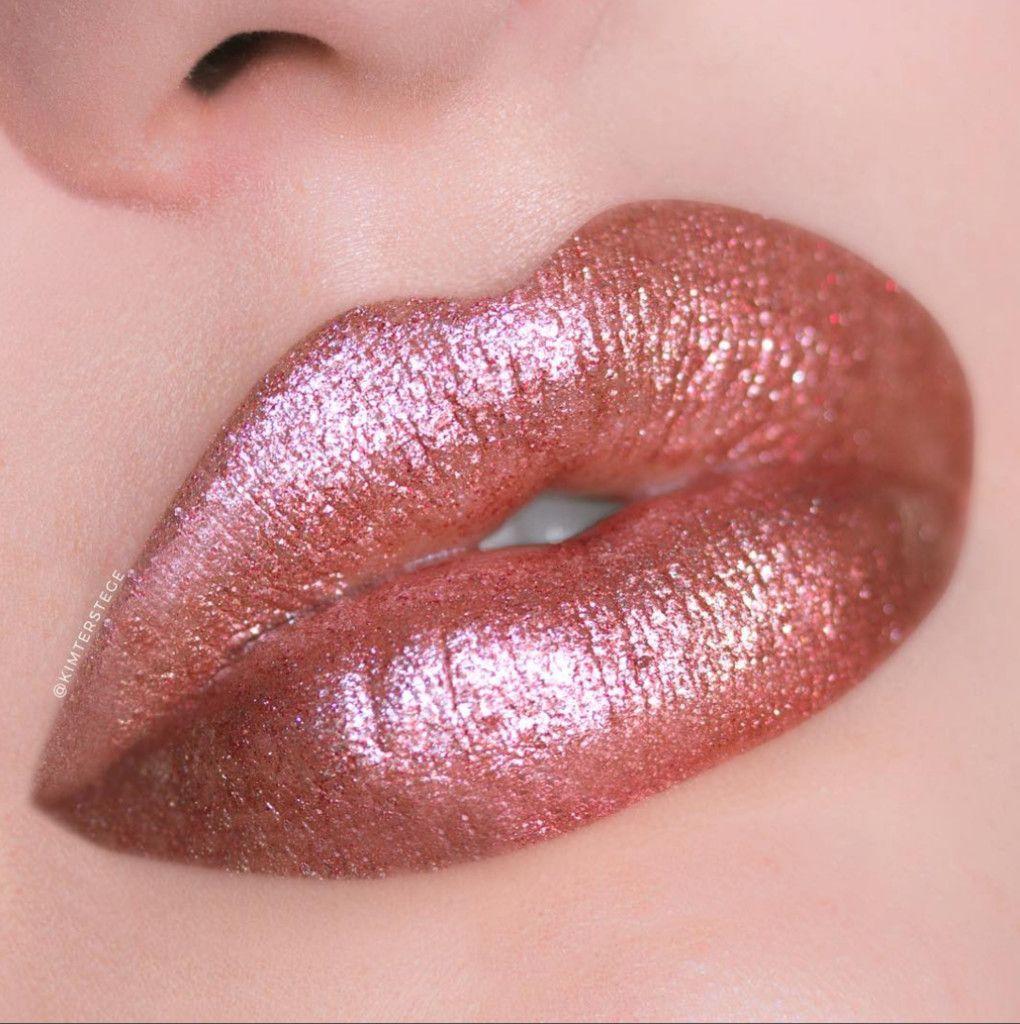 Glitter Lips | Glitter lips, Makeup, Lipstick