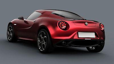 New Alfa Romeo 4c. God I Love Alfa's!