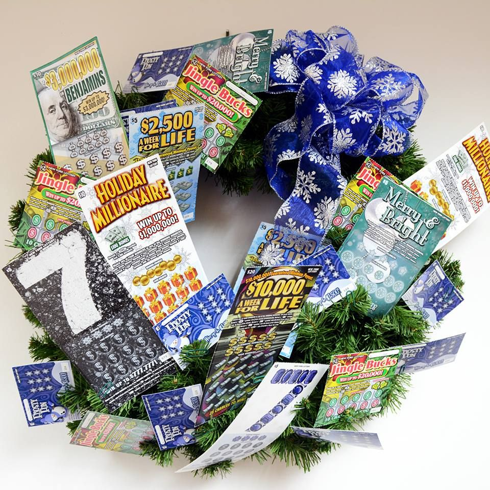 Feeling lucky this Christmas season? Stop by our service department for a chance to win this Lottery Ticket Wreath with $100 in scratch-off lottery tickets! Tickets are only $1 each and benefit The Santa Claus Club. Drawing will be held on 12/19. Good luck!!