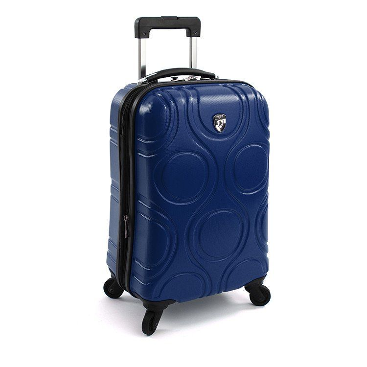 ● HEYS ● Rolling suitcase made from 100% Recycled ABS Plastic
