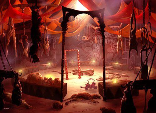 Rakdos Carnarium In 2020 Haunted Circus Creepy Circus