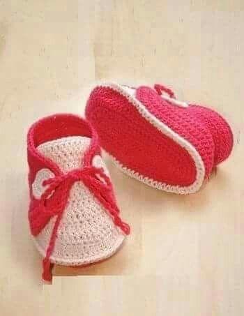 Pin de La Lucho en Patrones | Pinterest | Zapatillas de bebe ...