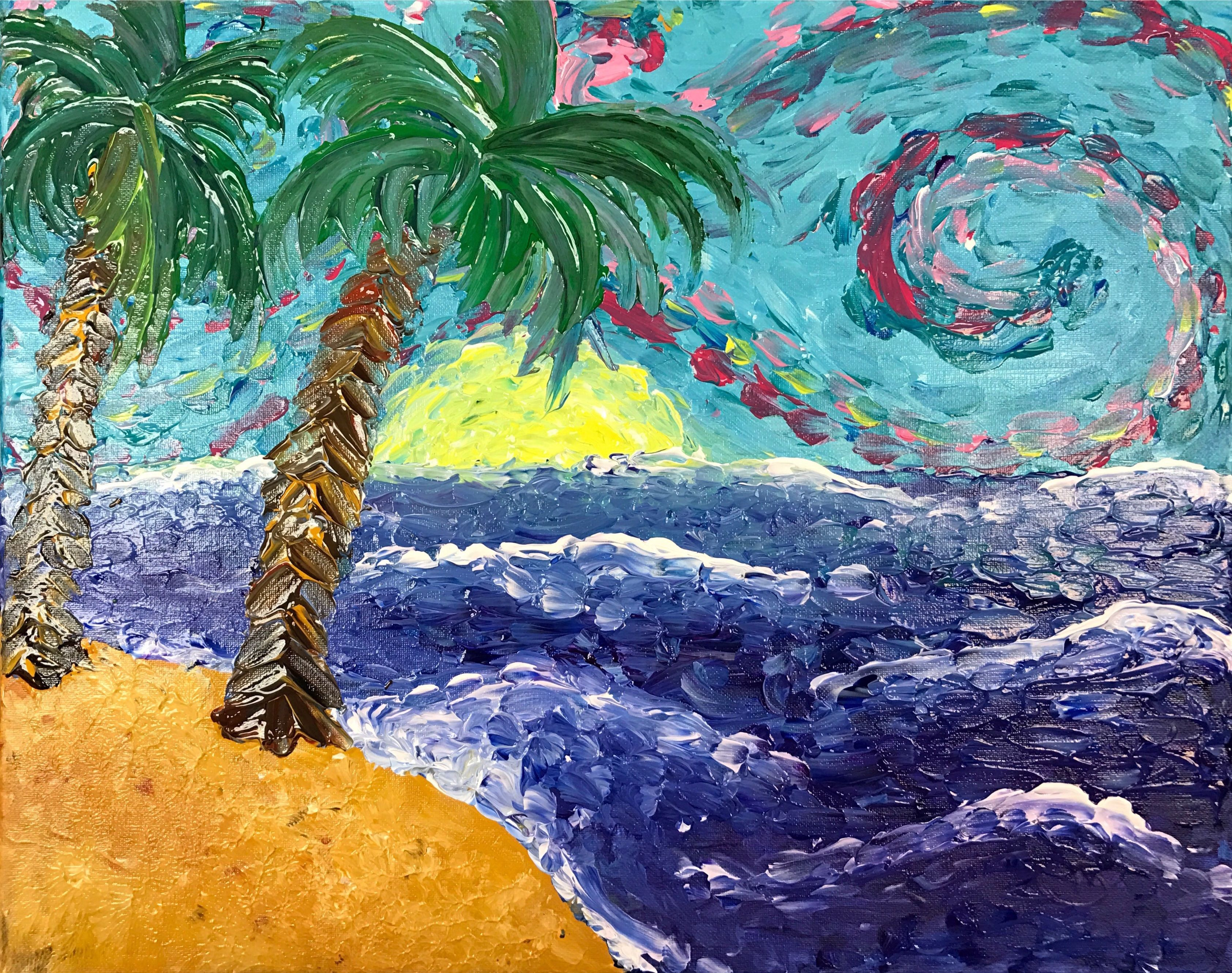 130 Painting Beach Ocean Ideas Painting Paint And Sip Canvas Painting