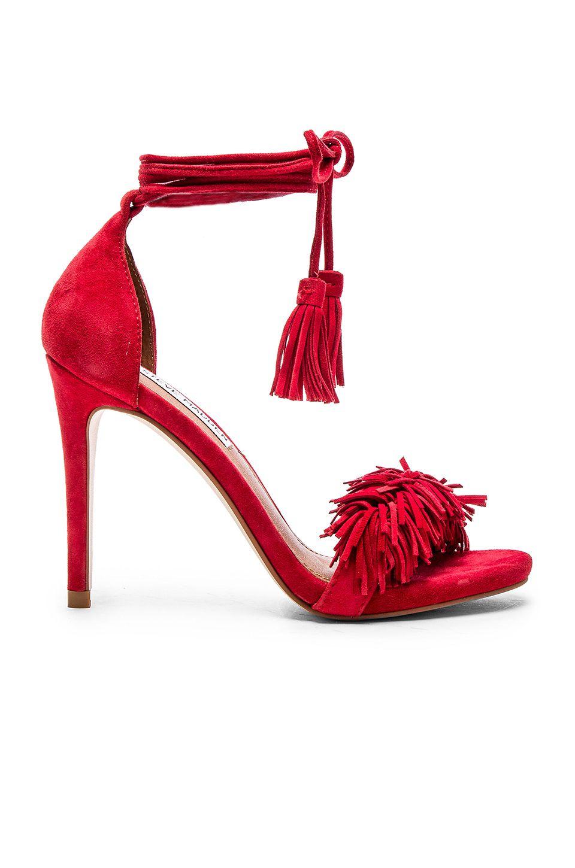 0a44f62b8f4 Steve Madden Sassey Heel in Red