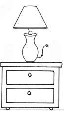 Resultado De Imagen Para Lampara Dibujo Para Colorear Lamp Decor Arts And Crafts