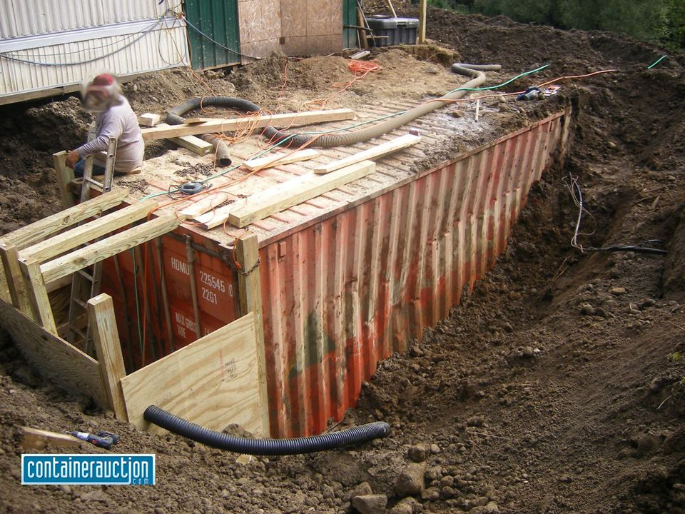 Metal Tank Shelters : Why you shouldn t bury a shipping container bunker