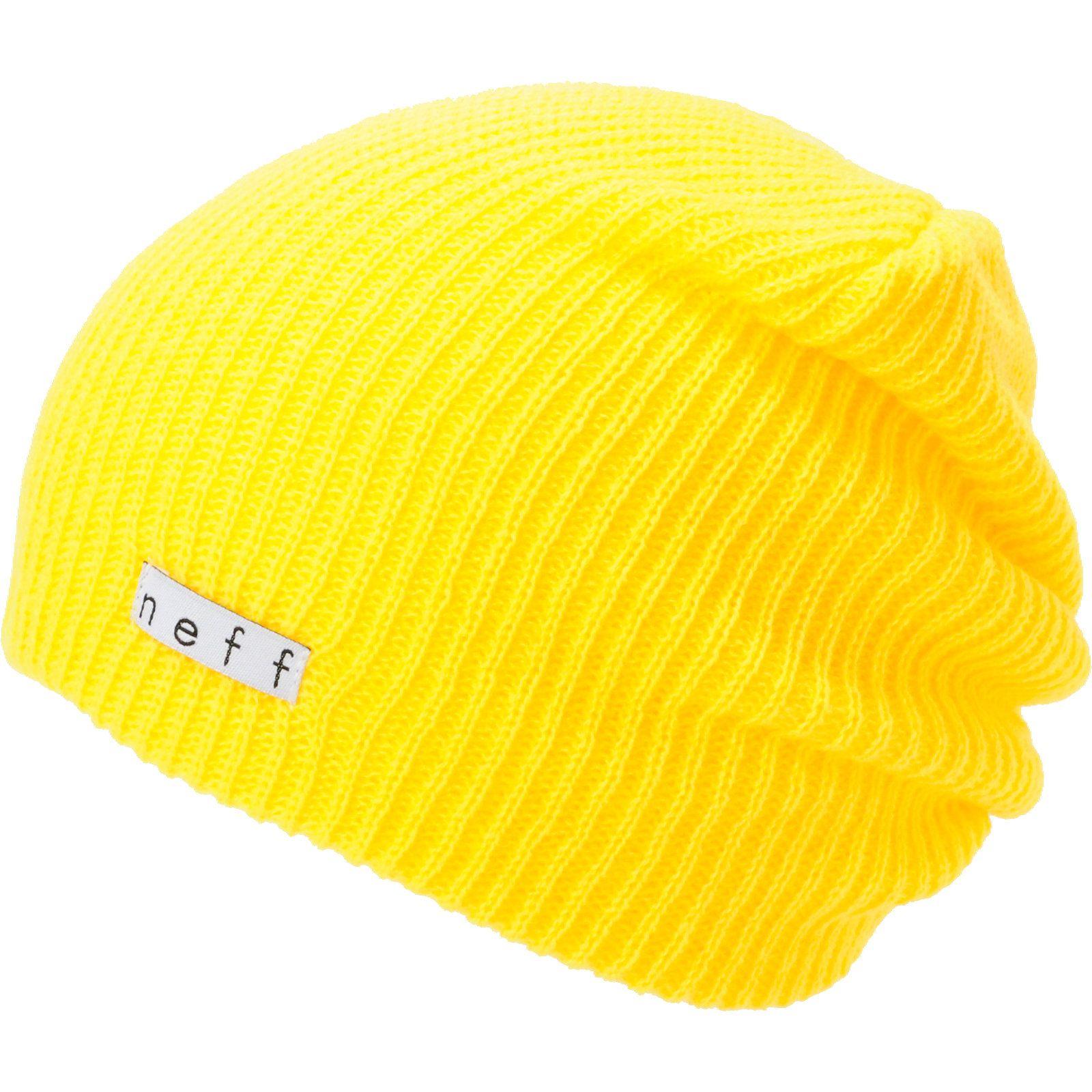 9f696c1d49a Neff Daily Yellow Beanie