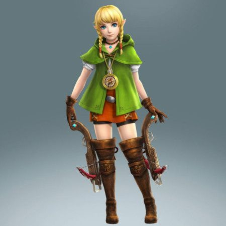 Hyrule Warriors Linkle Zelda Hyrule Warriors Legend Of