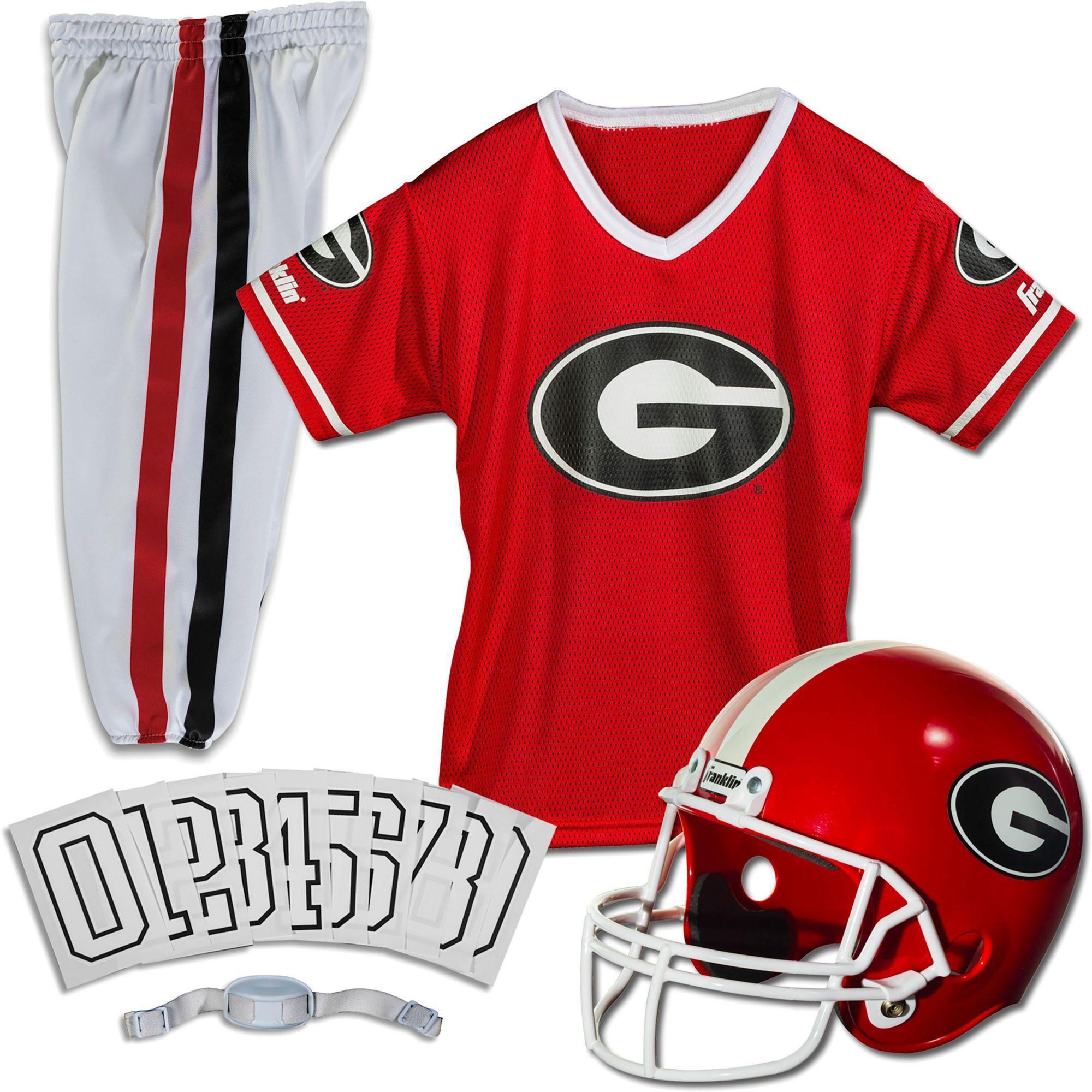 Franklin Georgia Bulldogs Deluxe Uniform Set Georgia Bulldogs