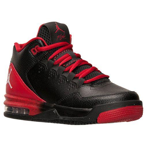 low priced e9e4a ddecb Boys  Grade School Jordan Flight Origin 2 Basketball Shoes - 705160 016   Finish  Line   Black White Gym Red