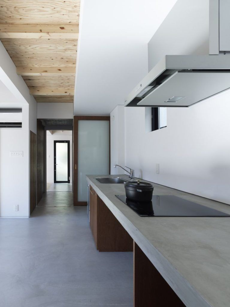 Installing Light In Concrete Ceiling Cement Wall Cupboards Minimalist Interior Design Pdf Home D Minimalist Kitchen Kitchen Cabinet Design Kitchen Design Small