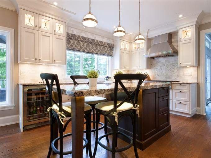 El aire moderno en la cocina clásica - Cocinas con estilo cocinas