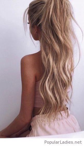 Phenomenal A Beautiful High Poly Tail Gorgeous Hair Hair Looks Long Hair Schematic Wiring Diagrams Amerangerunnerswayorg