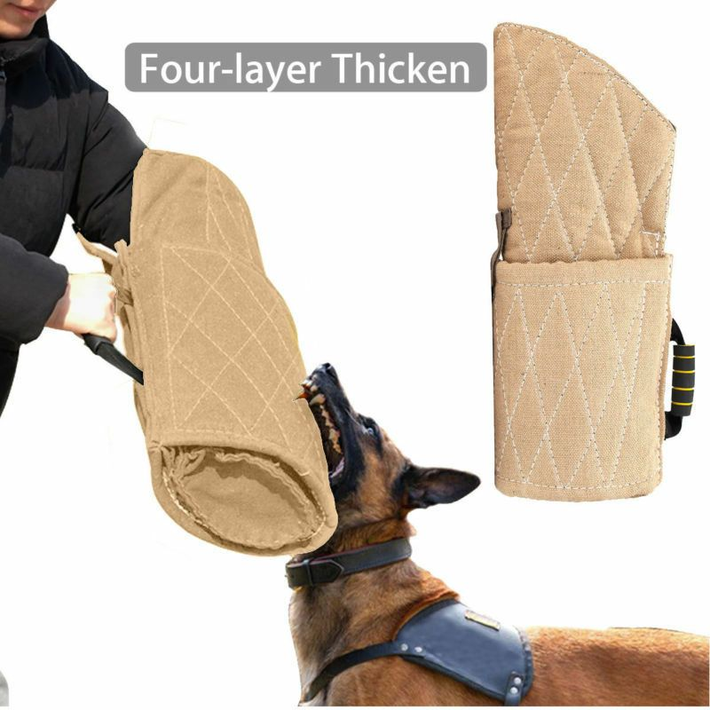 Dog Bite Sleeve Protection Arm For Police Dog Pet Training Walking