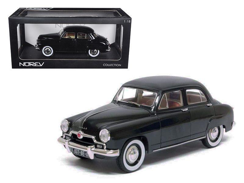 1953 Simca Aronde Black 1/18 Diecast Car Model by Norev | Simca ...