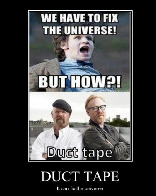 Image result for Mythbusters  and Dr. Who