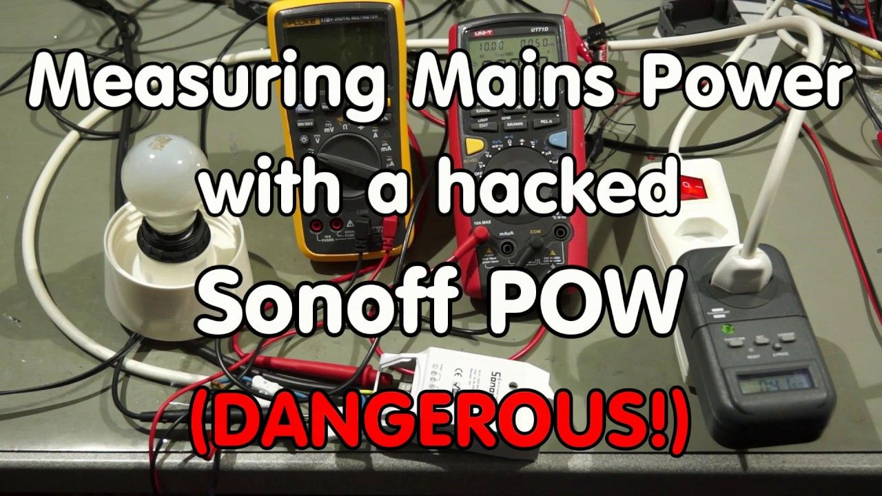 The Sonoff POW is a very interesting device for Home Automation. It ...
