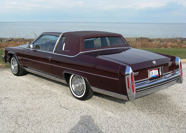 1983 Cadillac Fleetwood Brougham coupe by That Hartford Guy via
