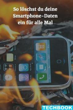 So löschen Sie Ihre Smartphone-Daten ein für alle Mal #electronicgadgets