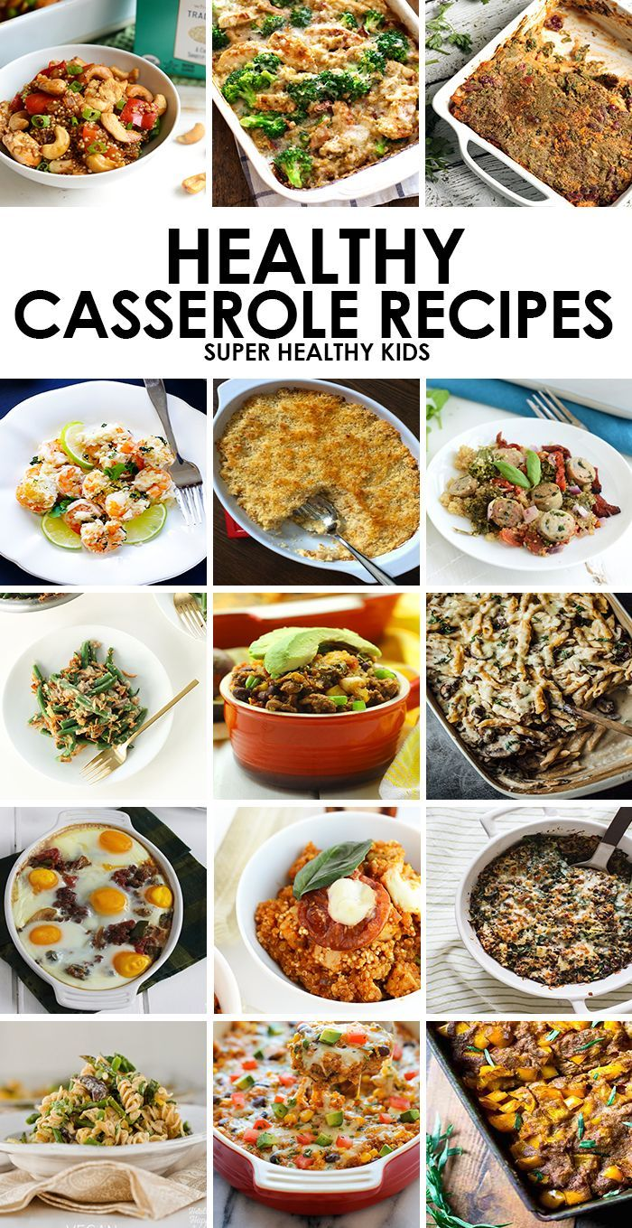 A Casserole Is A Great Way To Get A Healthy Filling Dinner On The Table Healthy Casserole Recipes Healthy Casseroles Filling Dinner