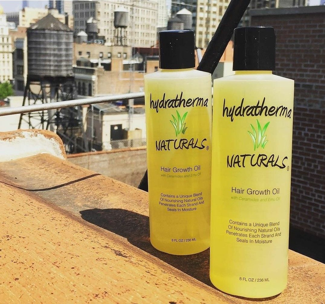 Who loves the Hydratherma Naturals Hair Growth Oil (withe