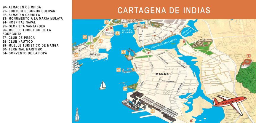Pin By Michael Kucinski On Colombia Map Cartagena Image