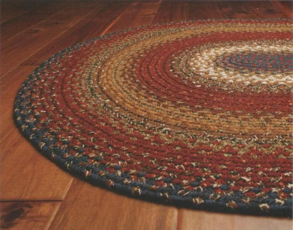 Braided Area Rug Rugsrustic Cottagerustic