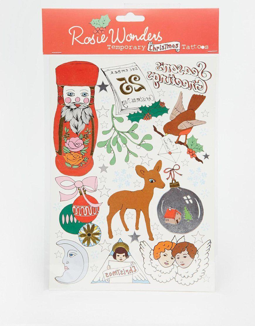 Rosie+Wonders+Christmas+Tattoos