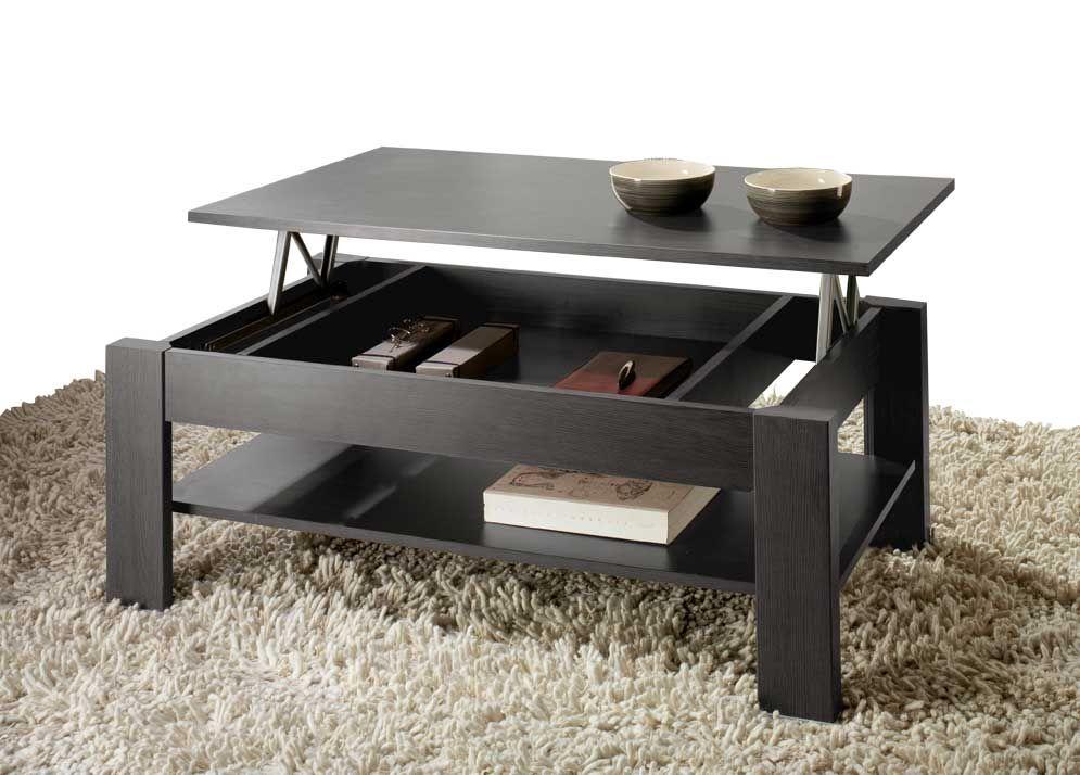 mesa de centro elevable barata