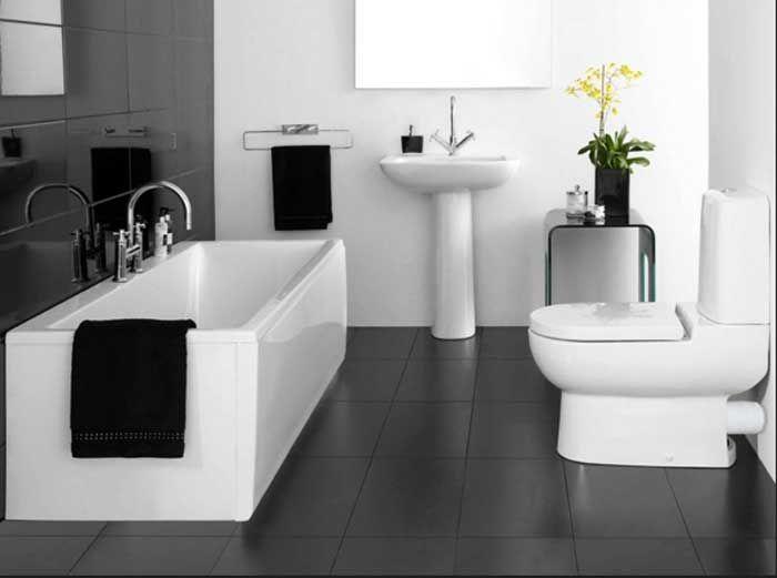 Schwarz Weiße Fliesen bildergebnis für schwarz weiße fliesen bathroom