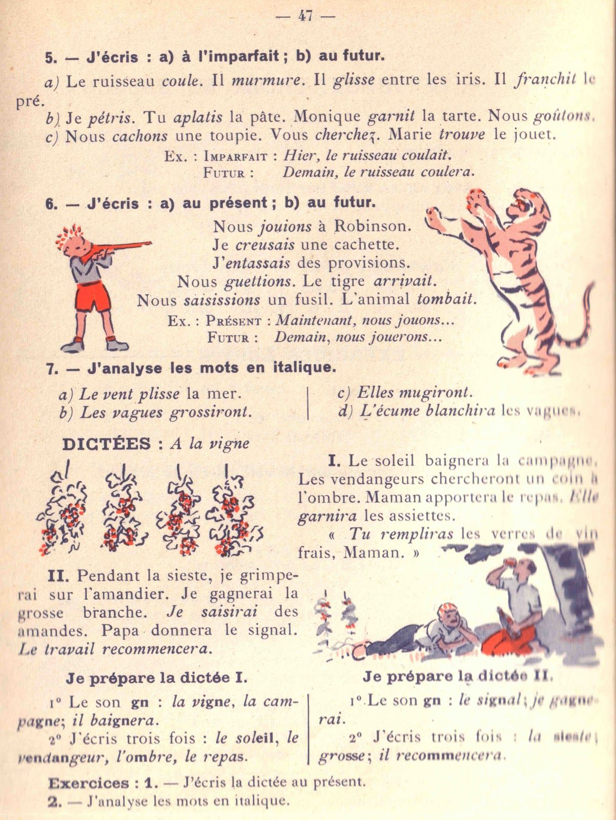Épinglé sur Fiches de français