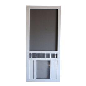 Product Not Found - Lowes.com   Vinyl screen doors, Diy
