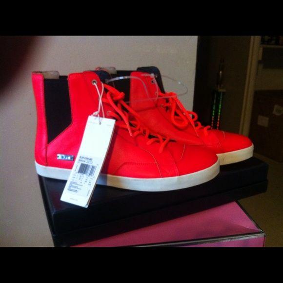 Adidas SLVR neon orange Men Slvr collection adidas neon orange infared core sneaker SLVR Shoes Sneakers