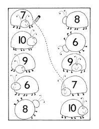 okul öncesi sayı eşleştirme kartları ile ilgili görsel sonucu