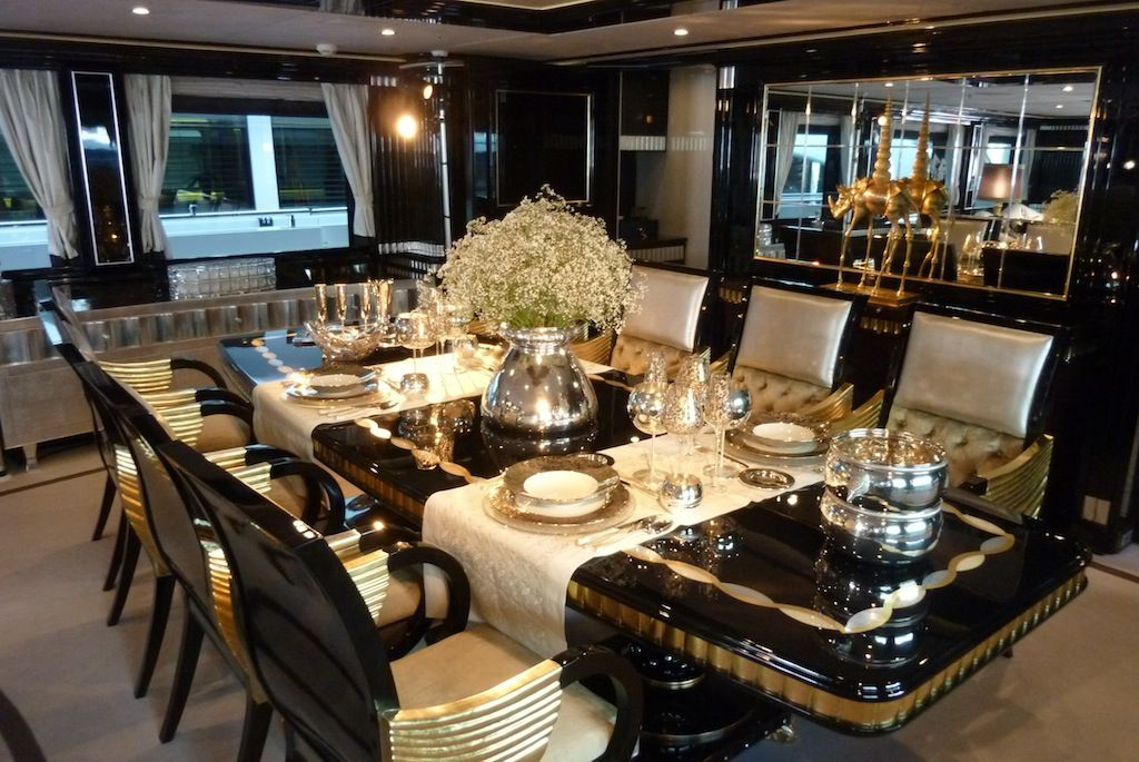 Great luxury dining tables on furniture with ideas for for Luxury dining room furniture