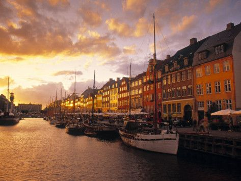 Poster for living room  Nyhavn Harbour, Copenhagen, Denmark Photographic Print by Jon Arnold - AllPosters.ca