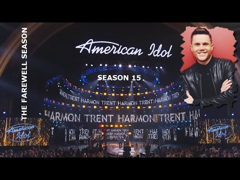 Trent Harmon - Chandelier - Top 5 Finalists - American Idol ...